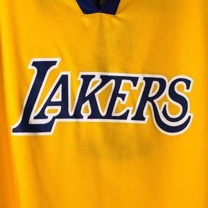 7af67b749 Lakers Shirts - Los Angeles LA Lakers Chick Hearn Promo Jersey XL